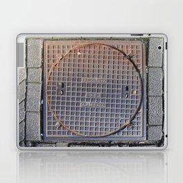 manhole Amsterdam Laptop & iPad Skin