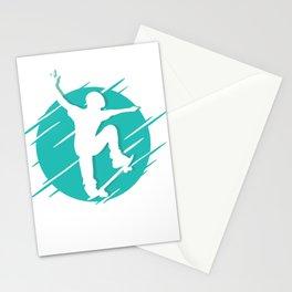 Skater Skateboarding Stationery Cards