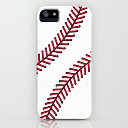 Fantasy Baseball Super Fan Home Run iPhone Case