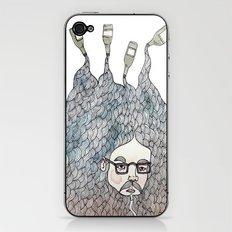 Bottle Beard iPhone & iPod Skin
