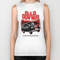 regular show Biker Tanks featuring Ello Gov'nor! Regular Show by Mark Welser