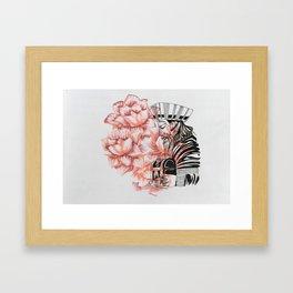 One king Framed Art Print