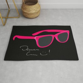 Darren Criss Glasses Rug