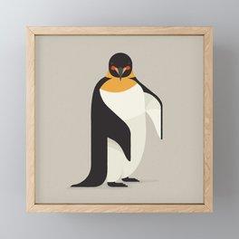 Emperor Penguin, Antartica Wildlife Framed Mini Art Print