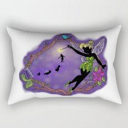 Sihouette Tinker Bell Rectangular Pillow
