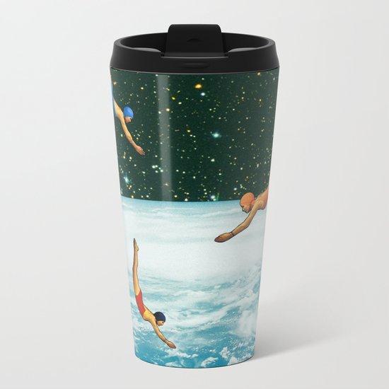 Space jumps Metal Travel Mug