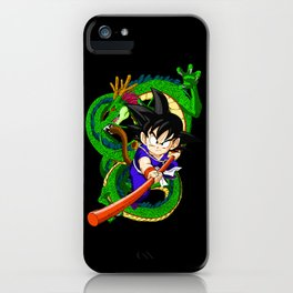Little Goku iPhone Case