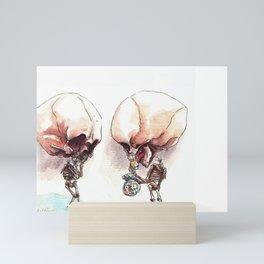 Candy Skull Mini Art Print
