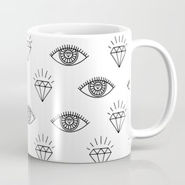Diamond Eyes #society6 #decor #buyart Coffee Mug