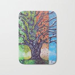 'A Tree For All Season' Bath Mat