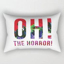 Oh! The Horror! Rectangular Pillow