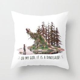 Ellie's birthday - The Last of Us Part II - Fan art Throw Pillow