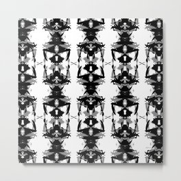 Ant Races Metal Print