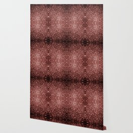 Beautiful Glam Marsala Brown-Red Glitter sparkles Wallpaper