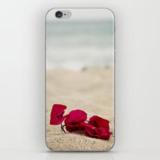 Beach Flowers iPhone & iPod Skin