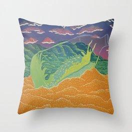 Santa Cruz Nudibranch Throw Pillow
