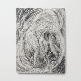 Whale Dance Metal Print