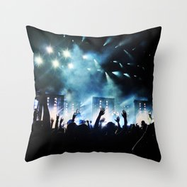 I'M WITH THE BAND - PHOTO Throw Pillow