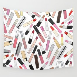 Lipstick Party - Light Wall Tapestry
