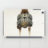 walrus iPad Cases featuring walrus by Manoou