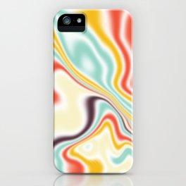 Liquid shapes 2 iPhone Case