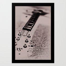Blurred Rhythm Art Print
