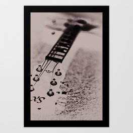 Blurred Rhythm Art Print