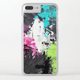 Gamer Girl Clear iPhone Case