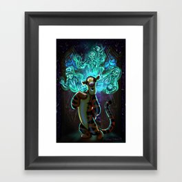 Tigz Surprise by Topher Adam 2017 Framed Art Print