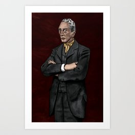 Portrait of an Illustrator - Rockwell Art Print