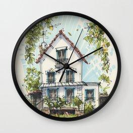 Maison a Paris Wall Clock