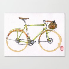 Coffee Wheels #17 Canvas Print