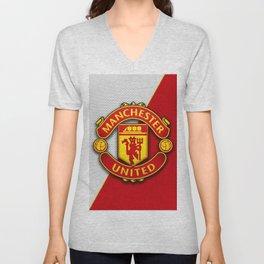 Manchester United Unisex V-Neck
