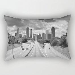Atlanta Skyline Rectangular Pillow