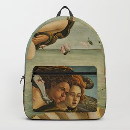 Birth Of Venus Sandro Botticelli Nascita di Venere Backpack