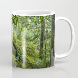 Green forest after raining II Coffee Mug