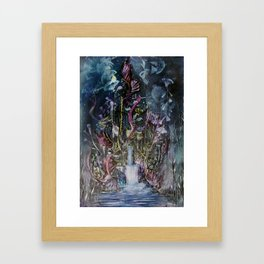 Waterfall of Wishes Framed Art Print