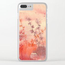 maybe weeds Clear iPhone Case