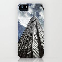 Chicago [Sky cut N°425] Illinois, Usa iPhone Case