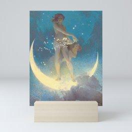 """Edwin Blashfield """"Spring Scattering Stars"""" Mini Art Print"""