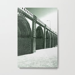Bridge in Ribeira Grande Metal Print