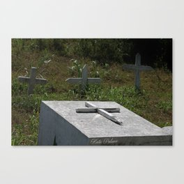 Graves  Canvas Print