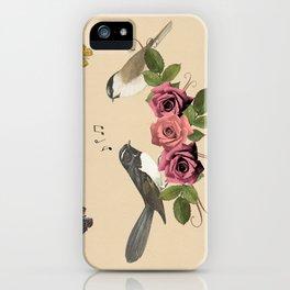 Song Bird 5 iPhone Case
