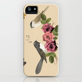Song Bird 5 iPhone Case