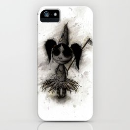 Cute Dead Girl iPhone Case