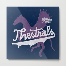 Thestrals Metal Print