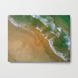 El Palmar beach in Vejar de la Frontera, Spain.  Metal Print