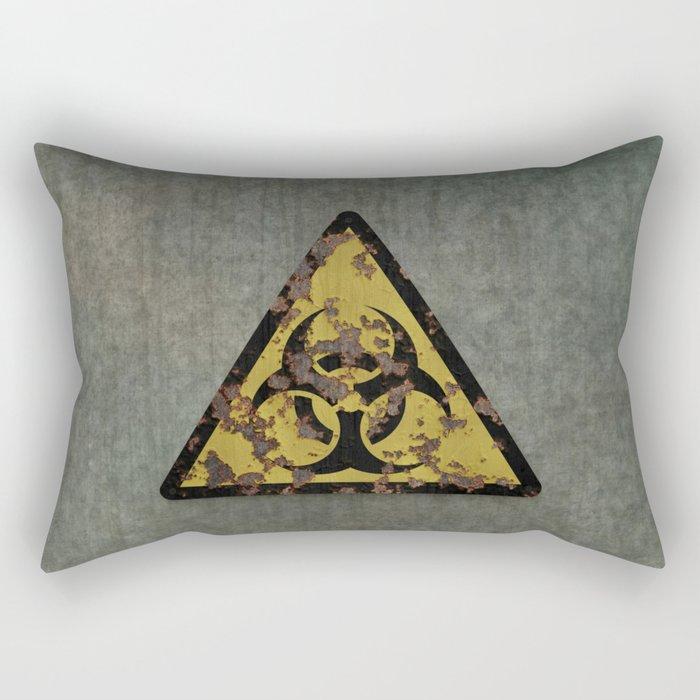 Biohazard Rectangular Pillow