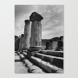 Pompeii - A City Uncovered - 2 Canvas Print