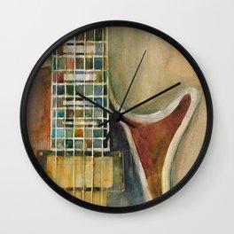 Gibson Electric Guitar Wall Clock